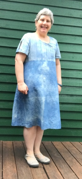 indigo dress 1